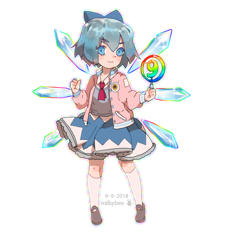 Cirno 09.09.18 by milkybee