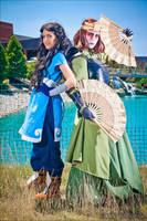 ATLA- Girls by Larina-Satome