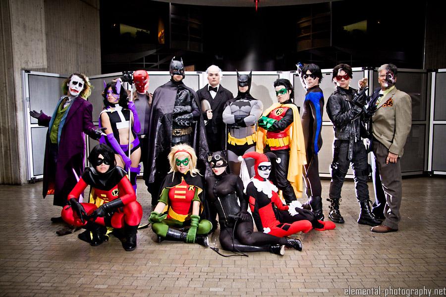 The Bat Family by Larina-Satome