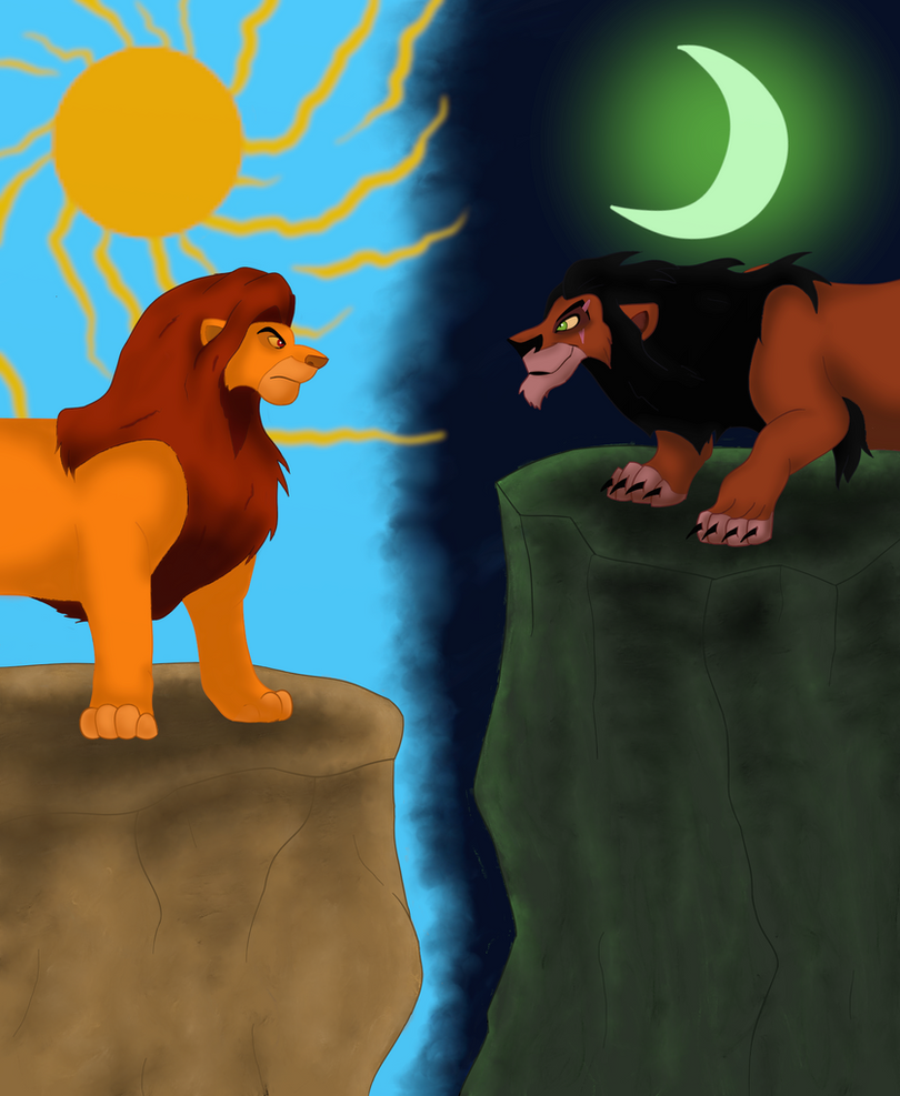 The lion king mufasa and scar - photo#26