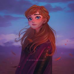 Anna   Frozen 2 by Y0Y0Sketch