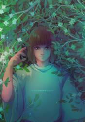 Haku by Y0Y0Sketch