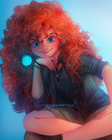 Merida by Y0Y0Sketch