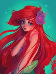 Ariel by Y0Y0Sketch