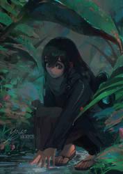 Tsuyu - Under the Rain by Rane0n
