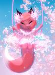 Cherry Blossom Fox: OC Blussom