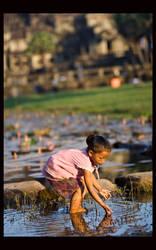 Angkor series by MaxiKana