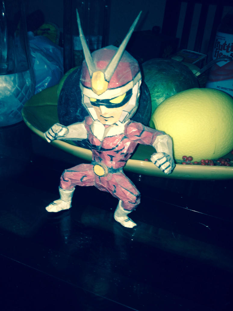 Viewtiful joe papercraft by Kumaxter