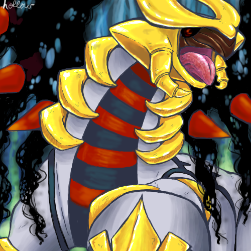 Giratina by hollowzero