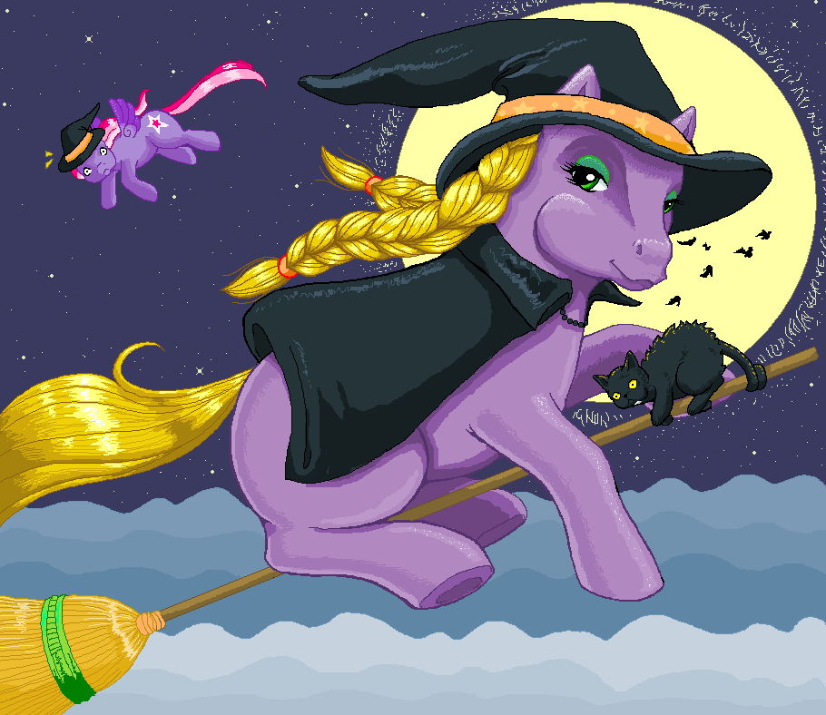 MSPaint Abracadabra Pony