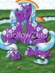Pony Family - Beachball by hollowzero