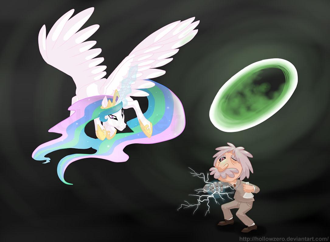 princess_celestia_vs__cyborg_albert_einstein_by_hollowzero-d4ofwbg.jpg