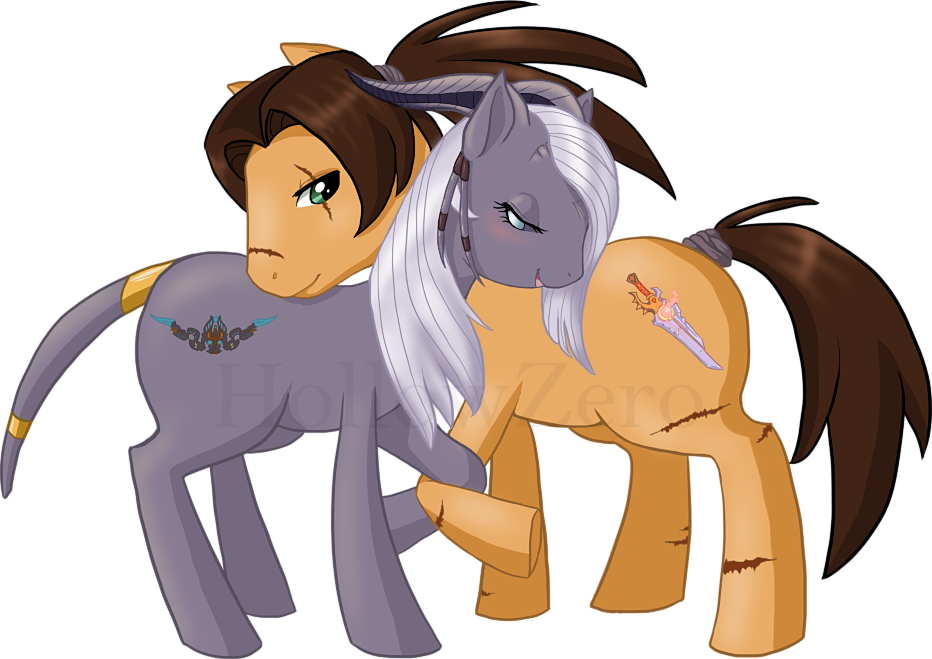 WoW OC Pony Commission by hollowzero