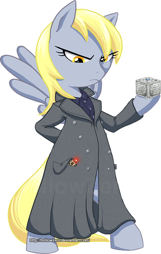 Doctor Derpy Who? by hollowzero