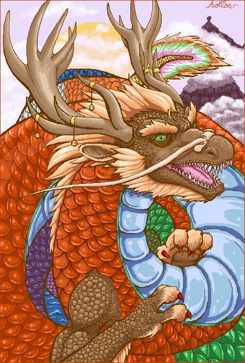 Renewal Dragon by hollowzero