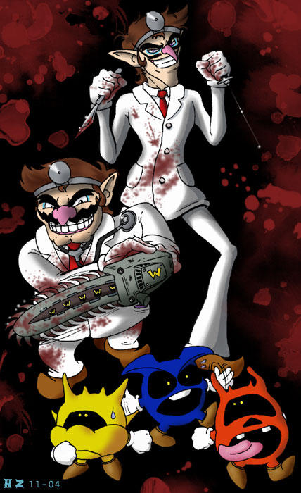 Dr. Wario by hollowzero