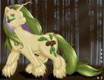 OC - Bristlecone pony