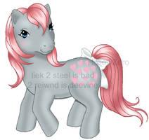 Snuzzle Pony by hollowzero