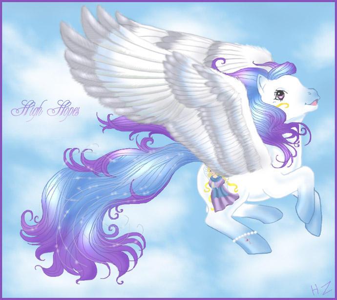 High Hopes Pony by hollowzero