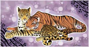 A Tiger and Jaguar