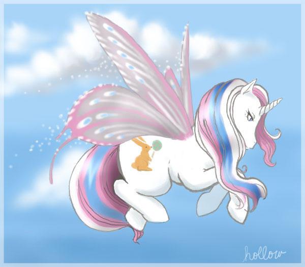 Fairy Unipony by hollowzero
