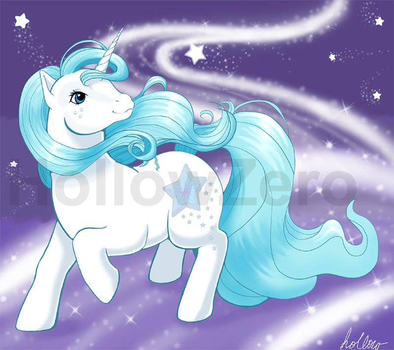Morning Star Pony by hollowzero