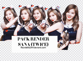 [160627] PACK RENDER SANA(TWICE) by fleurldellis2k4