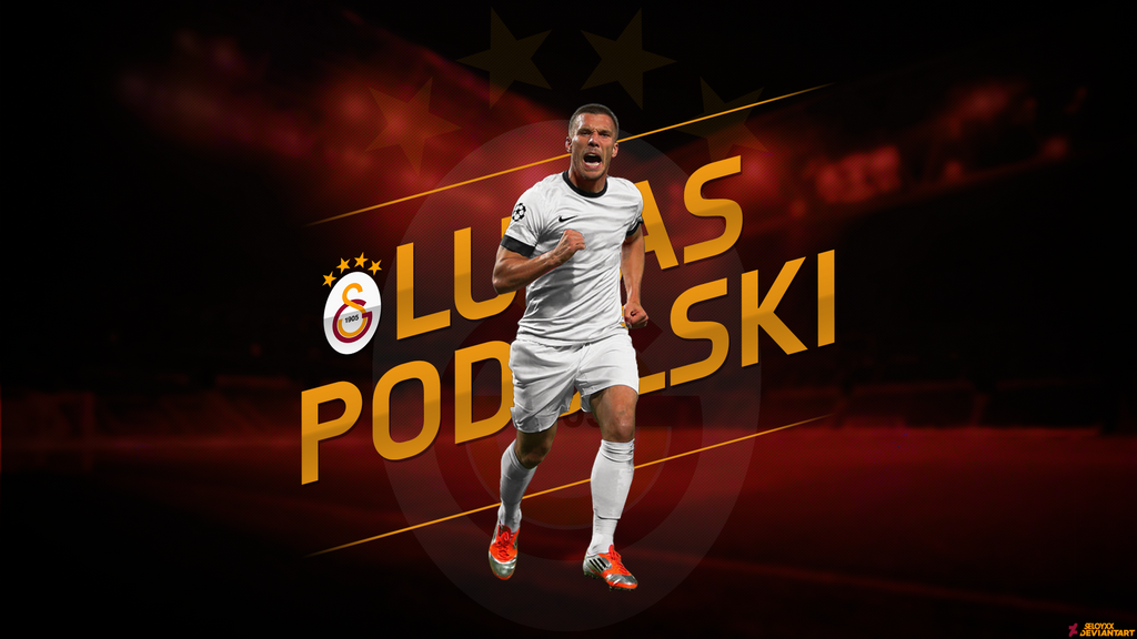 Lukas Podolski Galatasaray by seloyxx on DeviantArt