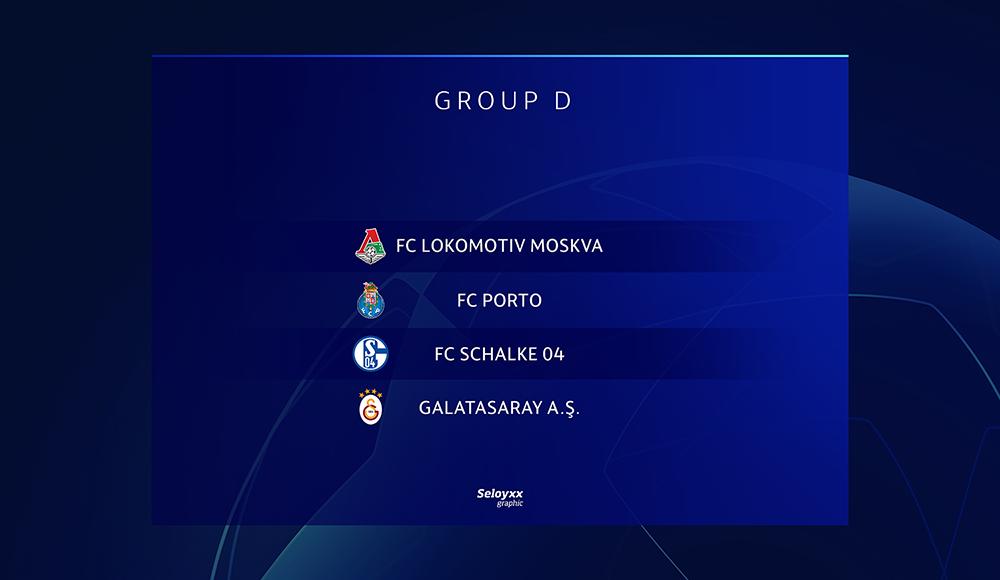 Champions League 2018 19 Pinterest: Champions League 2018-19 Group D By Seloyxx On DeviantArt