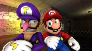Mario and Waluigi