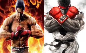 Tekken VS Street Fighter