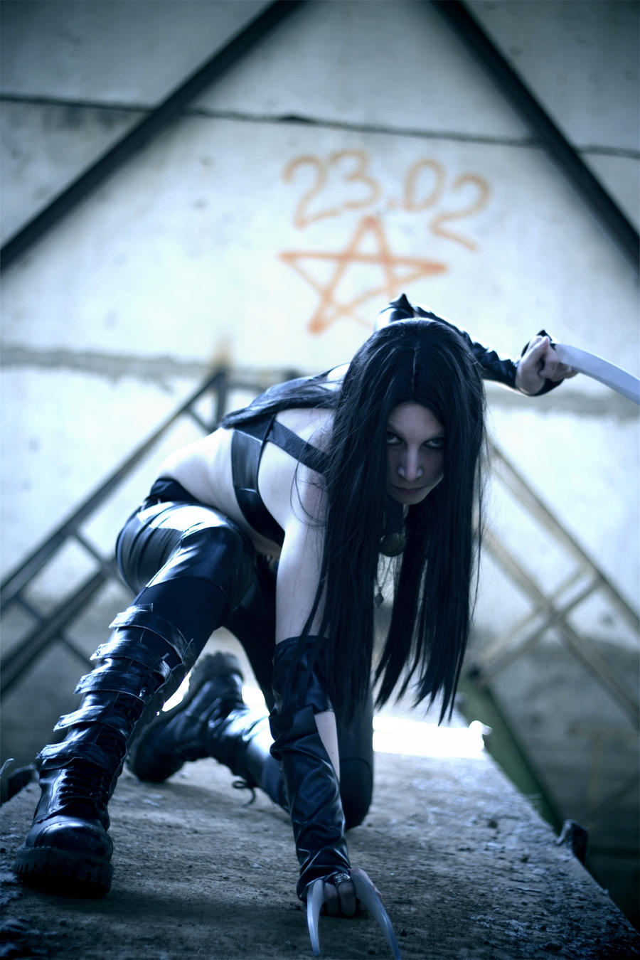 X - 23 Marvel by Fiora-solo-top on DeviantArt X 23 Cosplay Wallpaper