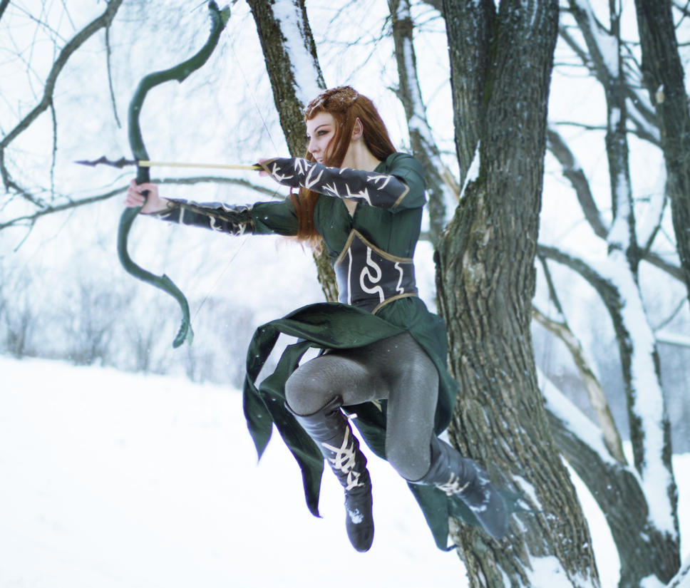 The Hobbit: The Desolation of Smaug   Tauriel by Fiora-solo-top