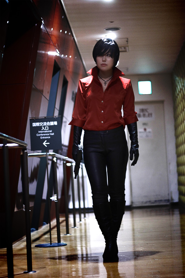 ada wong cosplay re6 by xxxrifa on deviantart