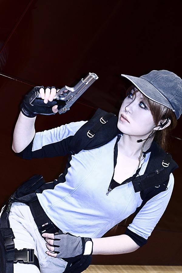 [We're in.] Lost in Nightmare - RE5 Jill cosplay. by xxxrifa
