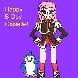 Happy 18th Birthday Giss-chan by AfroOtaku917