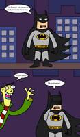 Ed Meets The Dark Knight