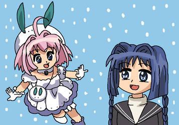 Nayuki meets Sugar by AfroOtaku917