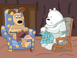 Ice Bear and Gromit