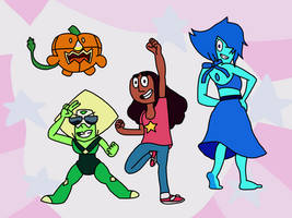 The Crystal Temps by AfroOtaku917