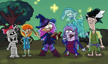 Enid's Ed-tastic Halloween by AfroOtaku917