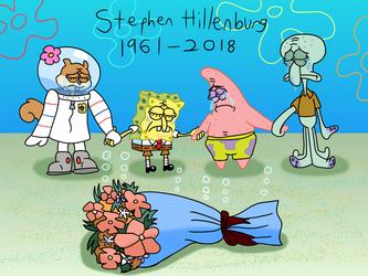 Stephen Hillenburg Tribute by AfroOtaku917