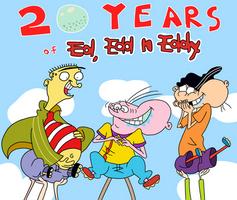 20 Years of Ed, Edd n Eddy by AfroOtaku917