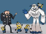 Despicable Smallfoot by AfroOtaku917