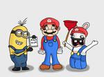 Mario's Loud Company by AfroOtaku917
