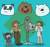 Friends of the Bears by AfroOtaku917