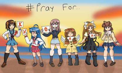 Pray For KyoAni by AfroOtaku917