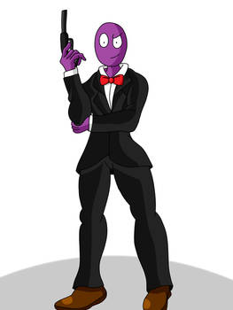 Zolton the Purple Spy Guy