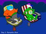 June-Star Runner Day 2: Dynamic Duo by AfroOtaku917