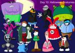 Junestar Runner Day 10: Halloween Costumes by AfroOtaku917